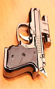 personlighed pistol modellering laser lightere sølv