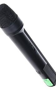 2 i 1 computer husstand karaoke trådløs mikrofon