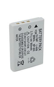 LI-80B/NP900 - Li-ion - Batterij - voor for Olympus T-100 T100 T-110 T110 X-960 X960 X-36 X36 - 3.7V - ( V ) - 900mAh - ( mAh )