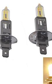 Pegasus® H1 55W 3000K 2200LM Warm White Light Halogen Headlamps (Pair/12V)