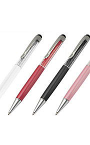 2in1 kuglepen krystal kapacitiv touch screen stylus til iPad tablet