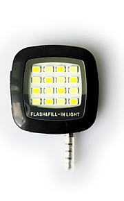 Smartphone levou flash-luz de preenchimento noite usando selfie reforço luz do flash para iPhone / iPad / Android / telefone janela