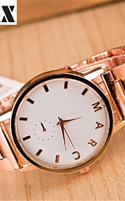 diamante moda quartzo relógio analógico correia de aço das mulheres