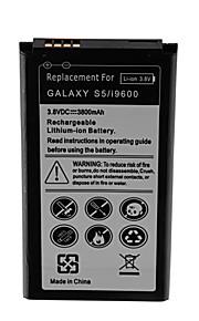 batería de repuesto - 3800 - Samsung - Galaxy S5 Active - GALAXY S5/i9600 - No