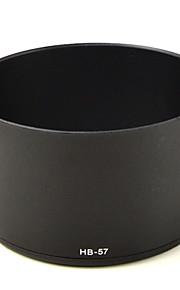 mengs® hb-57 bajonet modlysblænde til Nikon AF-S 55-300mm f / 4.5-5.6g ED VR