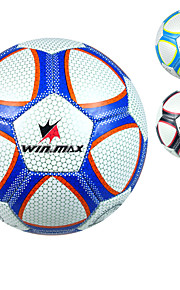 Winmax® Outdoor 3.0mm PVC Dark Blue\ Light Blue \ Black 5# Training Football \ Soccer