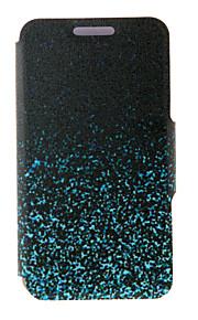noche kinston® brillante patrón chispa de cuerpo completo de la PU de la cubierta con el soporte para HTC uno M7 / M8 / M9 y HTC Desire