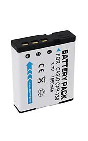 CNP-130 - Li-ion - Batterij - voor for  Casio EX-H30 EX-ZR100 EX-ZR200 ZR400 ZR300 ZR410 ZR700 ZR1000 H35 ZR1200 ZR800 - 3.7V - ( V ) -