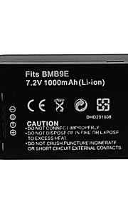 1000mAh camera batterij voor Panasonic DMW-bmb9e (t)