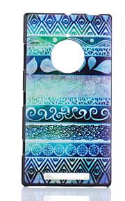 노키아 루미아 830 블루 민족 패턴 PC의 하드 케이스
