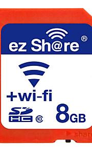 share ez cartão wi-fi 8gb de memória de classe sd