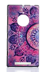 용 노키아 케이스 패턴 케이스 뒷면 커버 케이스 꽃장식 하드 PC Nokia Nokia Lumia 830