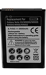 batería de repuesto - 3500 - Samsung - Galaxy Note 3 Lite - Galaxy NoteⅢ/N9000/N9005/N900A/N900/N9002 - No