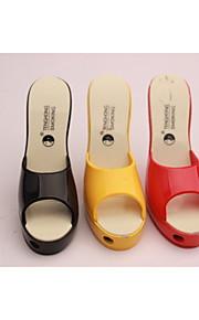kreative kvinders højhælede sko lysere lysere farve hjemmesko assorterede farver