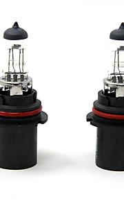 TIROL 2pcs Auto Headlight Bulbs Headlamp Bulbs Halogen 9004 12V 45/65W Super White 3000K
