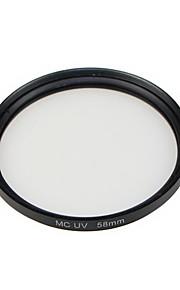 GPE 58mm mc-uv flerlagede coatede filtre til canon nikon