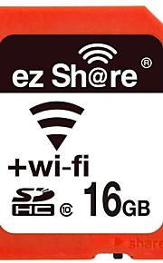 classe 16gb partes ez 10 wi-fi sem fio SDHC cartão de memória SD
