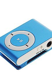 Sanshuai® Mini Clip Metal USB MP3 Music Media Player