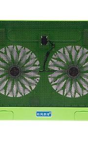 shunzhan yue Windleistungsdünn ruhigen Notebook-Rack-Kühlung Dual Air Base