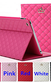 The New Diamond-Studded Crown PU Leather Tablet Protective Holster for ipad mini1 2 3 (Assorted Colors)