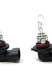 TIROL 2pcs Auto Headlight Bulbs Headlamp Bulbs Halogen 9005 12V 65W Super White 3000K