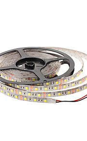 Vandtæt 5M 45W 3900-4200LM 300x5050SMD White Light LED Strip Lamp (DC 12V)