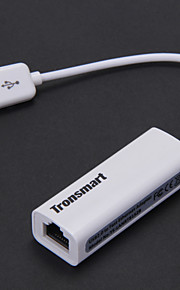 tronsmart usb 2.0 ethernet-sovitin Mac - white