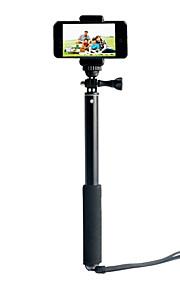 ISecret+ Metal Selfie Stick Holder Bluetooth Remote Controller Shutter for Cellphone Camera