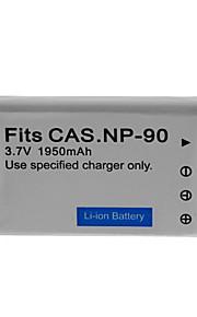 1050mAh camera batterij pack voor CASIO NP-90