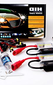 12V 35W HB4 15000K Slim Aluminum Ballast HID Xenon Headlights Kit