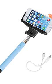 universeal selfie telecomando regolabile pieghevole per la maggior parte il cellulare e il video