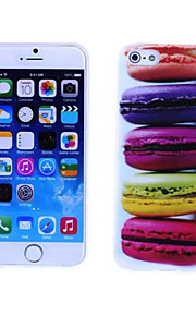 Macaron Pattern TPU And IMD Soft Case for iPhone 5/5S