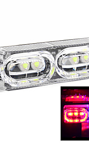 Merdia 706 2W 40LM Red and Blue Light Brake Light / Decorative Lights/Daytime Running Lights for Car(1 PCS/12V)