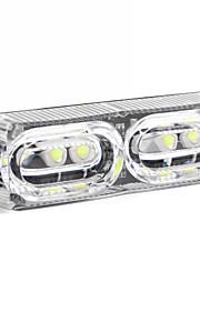 Merdia 706 2W 40LM Red/ Blue Light Brake Light / Decorative Lights/Daytime Running Lights for Car(1 PCS/12V)