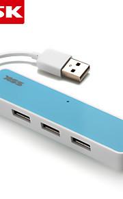 ssk® usb 2.0 shu026-1 4-port med høj hastighed USB-hub