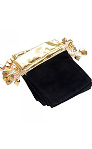 10pcs - Stof - Smykketasker