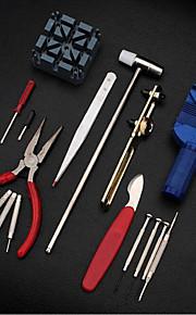 16pc deluxe ajustar relógio de volta caso barra de mola removedor ferramenta abridor kit de reparação correção pin set ligação removedor