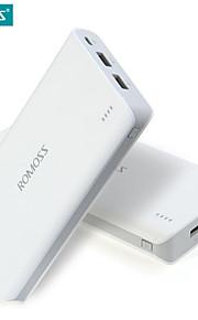 romoss 20000mAh senso 6 caricabatterie portatile batteria esterna della banca di potere pacco veloce ricarica per i telefoni cellulari