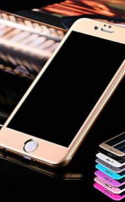 hzbyc® titanio 3d arco in acciaio pellicola protettiva per iPhone 6 / 6s