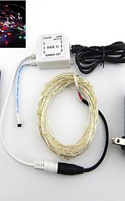 WENTOP 5 M 50 RGB Vanntett 2 W Lysslynger DC12 V