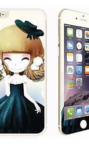 prova de arranhões inverno jasmine menina brilho hd antes película de proteção de vidro para iphone 6 mais