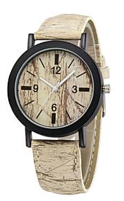 mode luksus vintage ur 4 farve træ korn armbåndsure afslappet armbånd ur udendørs sport mænd kvinder ure