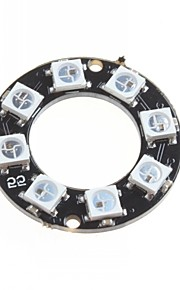 WS2812 5050 RGB LED Intelligent Full-Color RGB Light Ring Development Board