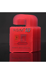 r-sim 10 rsim nano cloud-kort for iPhone 4s 5s seks pluss 2g / 3g / 4G LTE ios 8.x