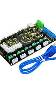 3D MKS Printer Control Board Gen V1.2 KEYES, Send USB Line, Black