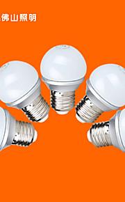 5 st FSL e26 / e27 3 v 9 smd 2835 220 lm varmvit / svalt vitt G45 världen glödlampor 220-240 V växelström