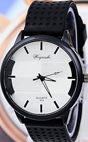 relógios dos homens silicone relógio de quartzo