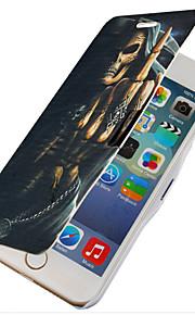 monster mönster magnetisk flip hela kroppen fallet med hål för iphone 6 plus