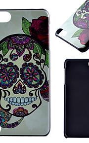 아이팟 터치 5 casefor 두개골 패턴 프로스트 PC 소재 전화