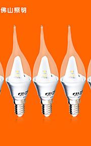 5 st FSL E14 3 v 9 smd 3528 220 lm varmvit / kallvit c ljus lökar 220-240 V växelström